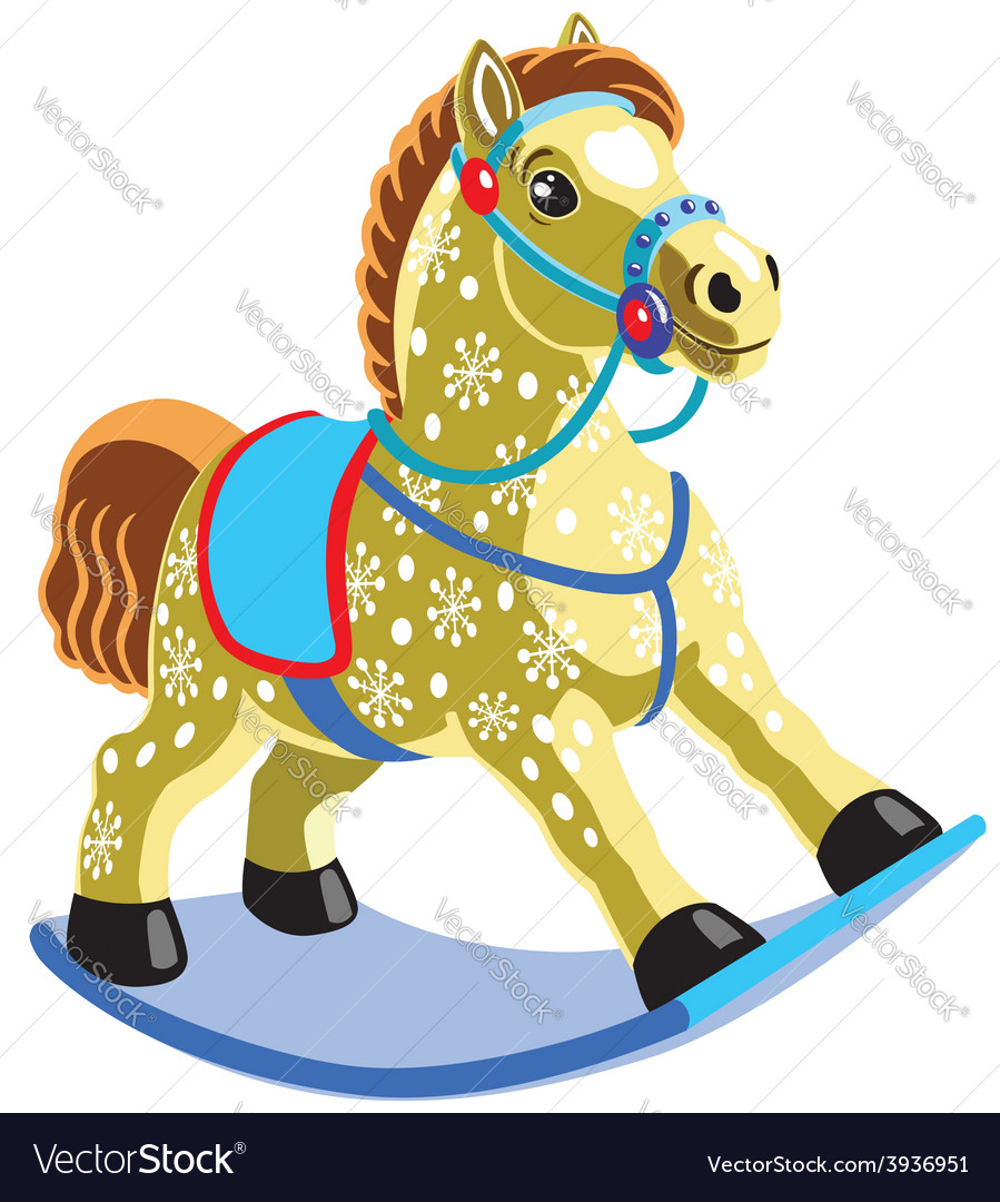 Rocking horse vector | Price: 1 Credit (USD $1)