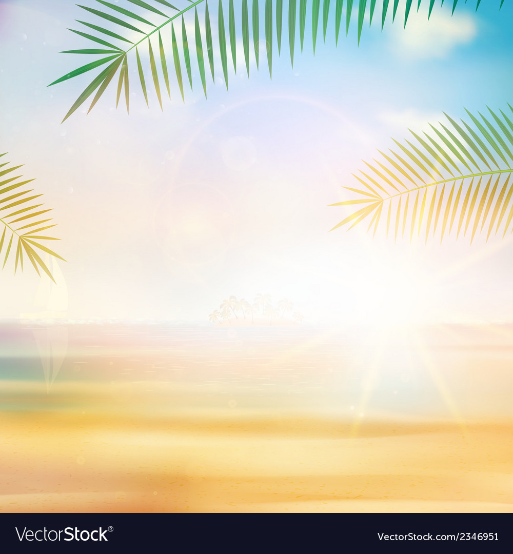 View of the sea in grunge and retro style vector | Price: 1 Credit (USD $1)
