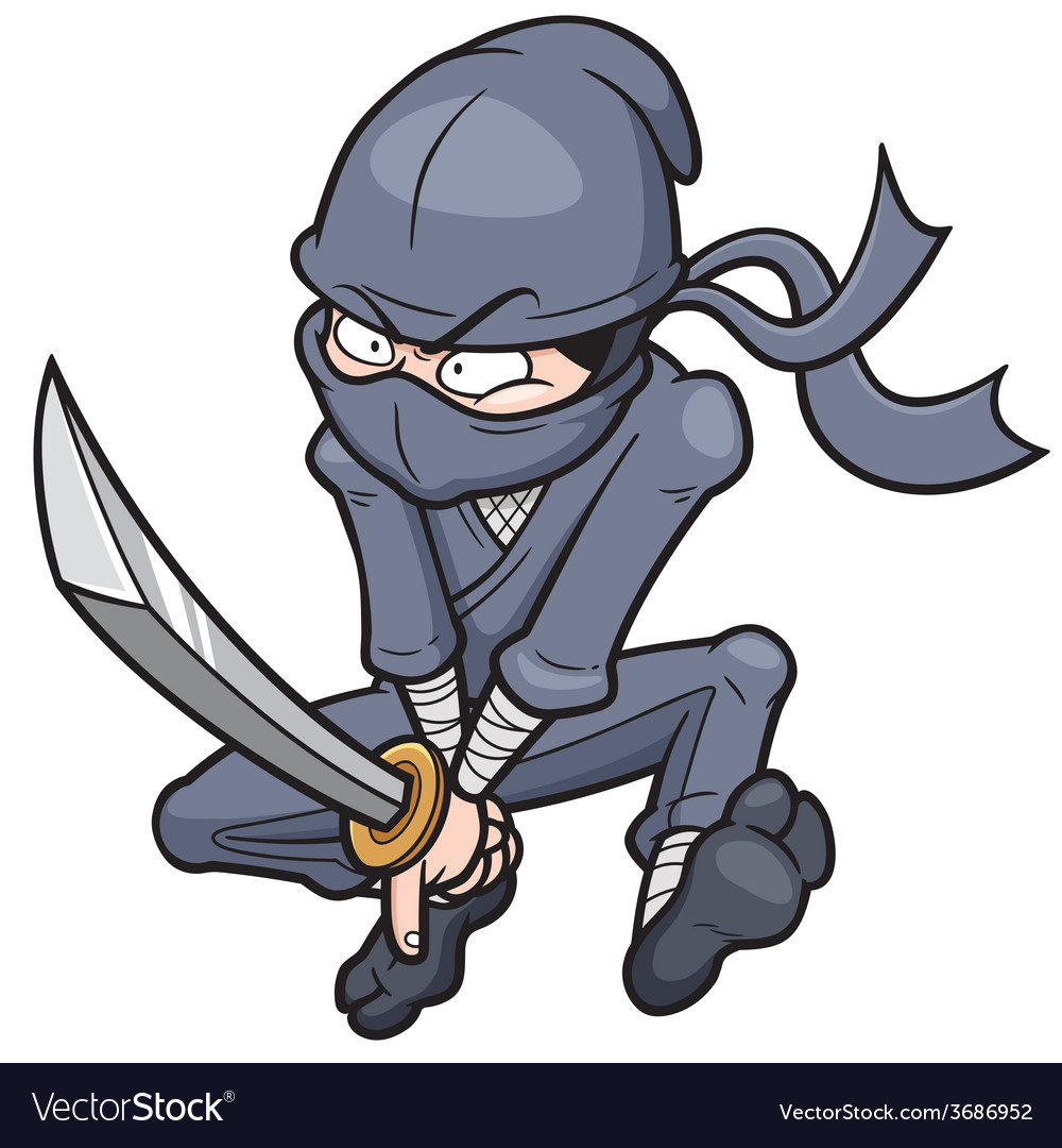 Ninja vector | Price: 5 Credit (USD $5)