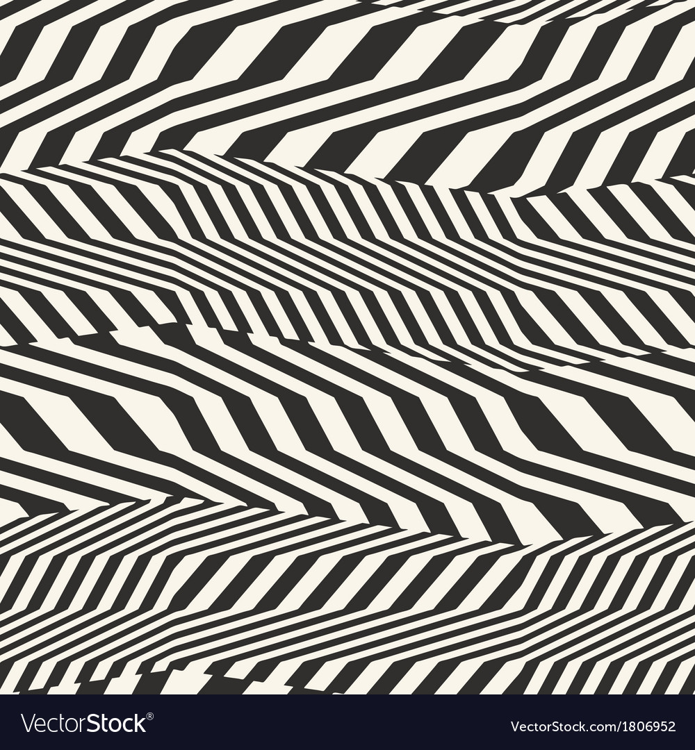 Striped textured geometric seamless pattern vector | Price: 1 Credit (USD $1)