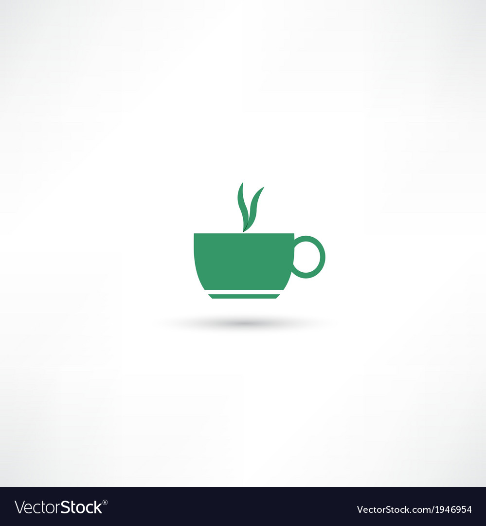 Green hot cup vector   Price: 1 Credit (USD $1)
