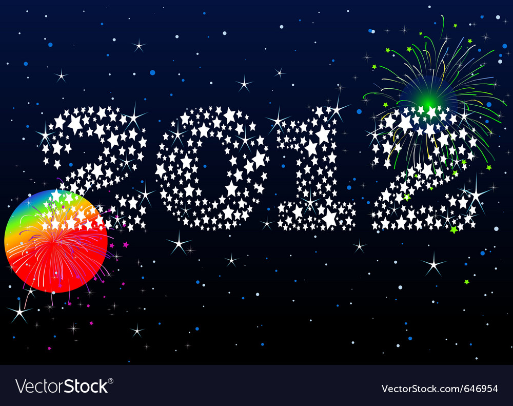 New years eve celebration vector | Price: 1 Credit (USD $1)