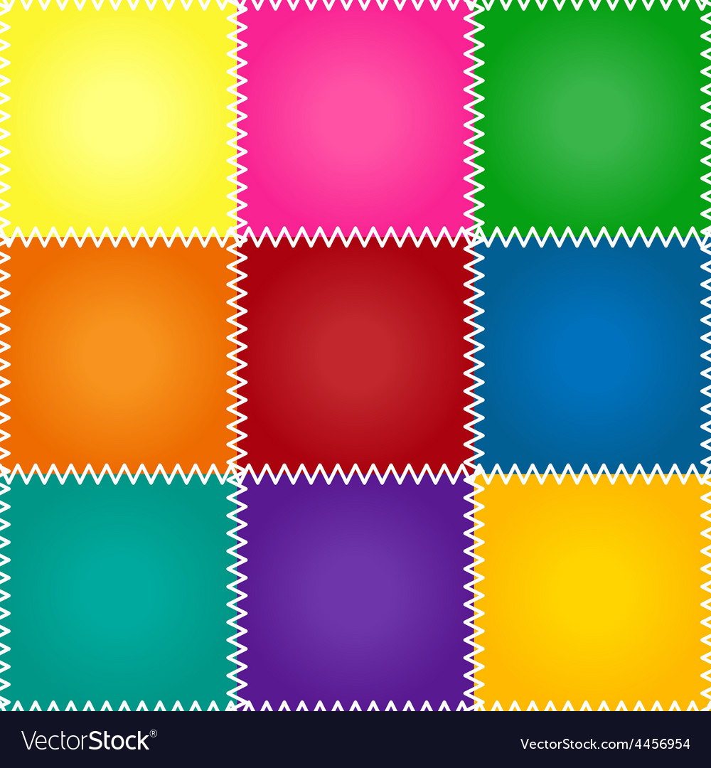 Seamless patchwork or quilt vector | Price: 1 Credit (USD $1)