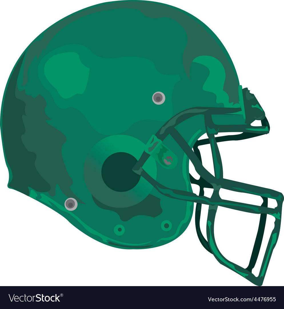 Gridiron helmet vector | Price: 1 Credit (USD $1)