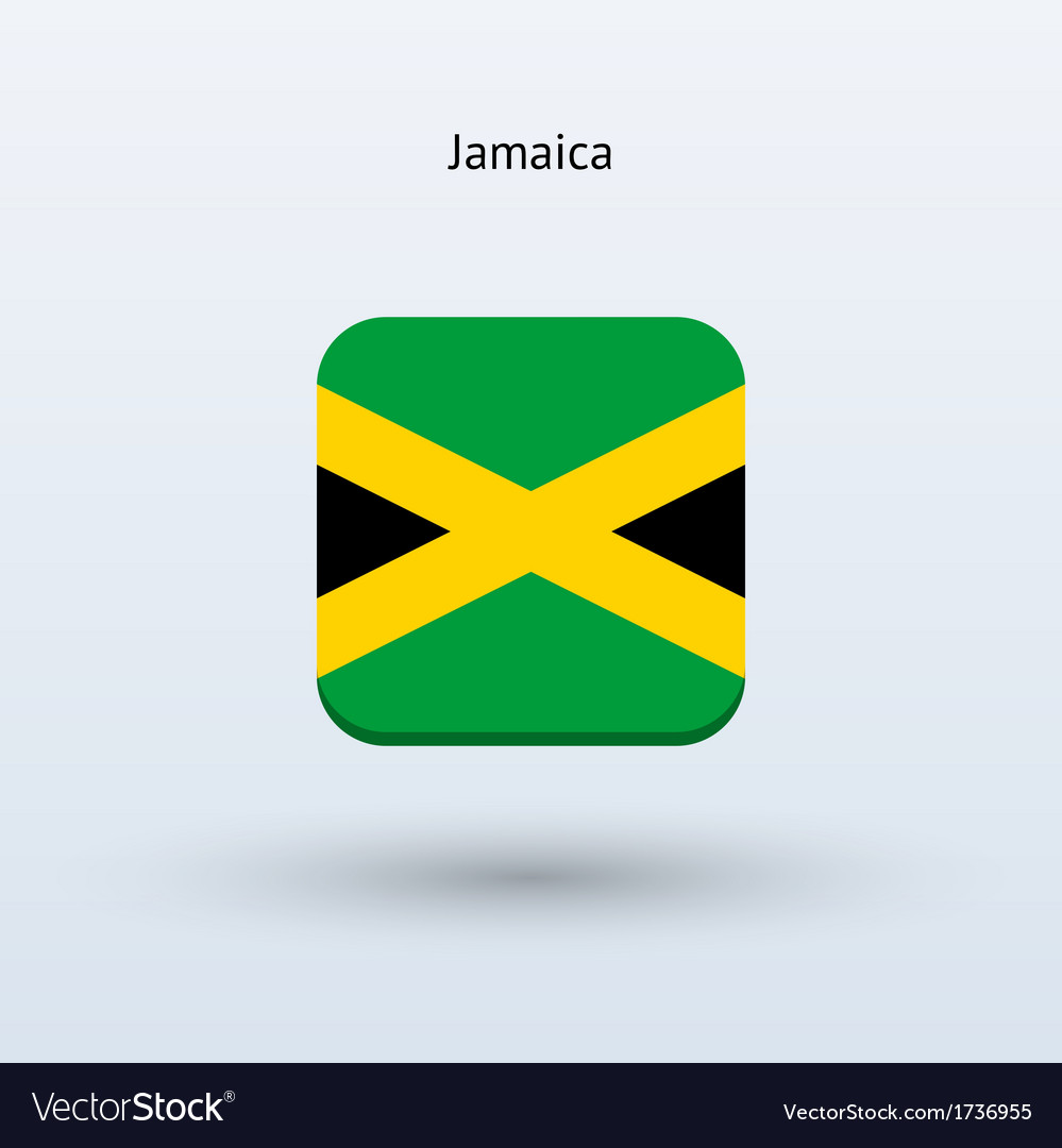Jamaica flag icon vector | Price: 1 Credit (USD $1)