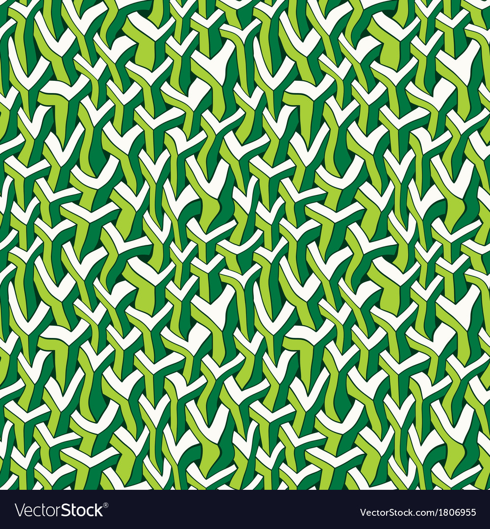 Ornate urban jungle print template vector | Price: 1 Credit (USD $1)