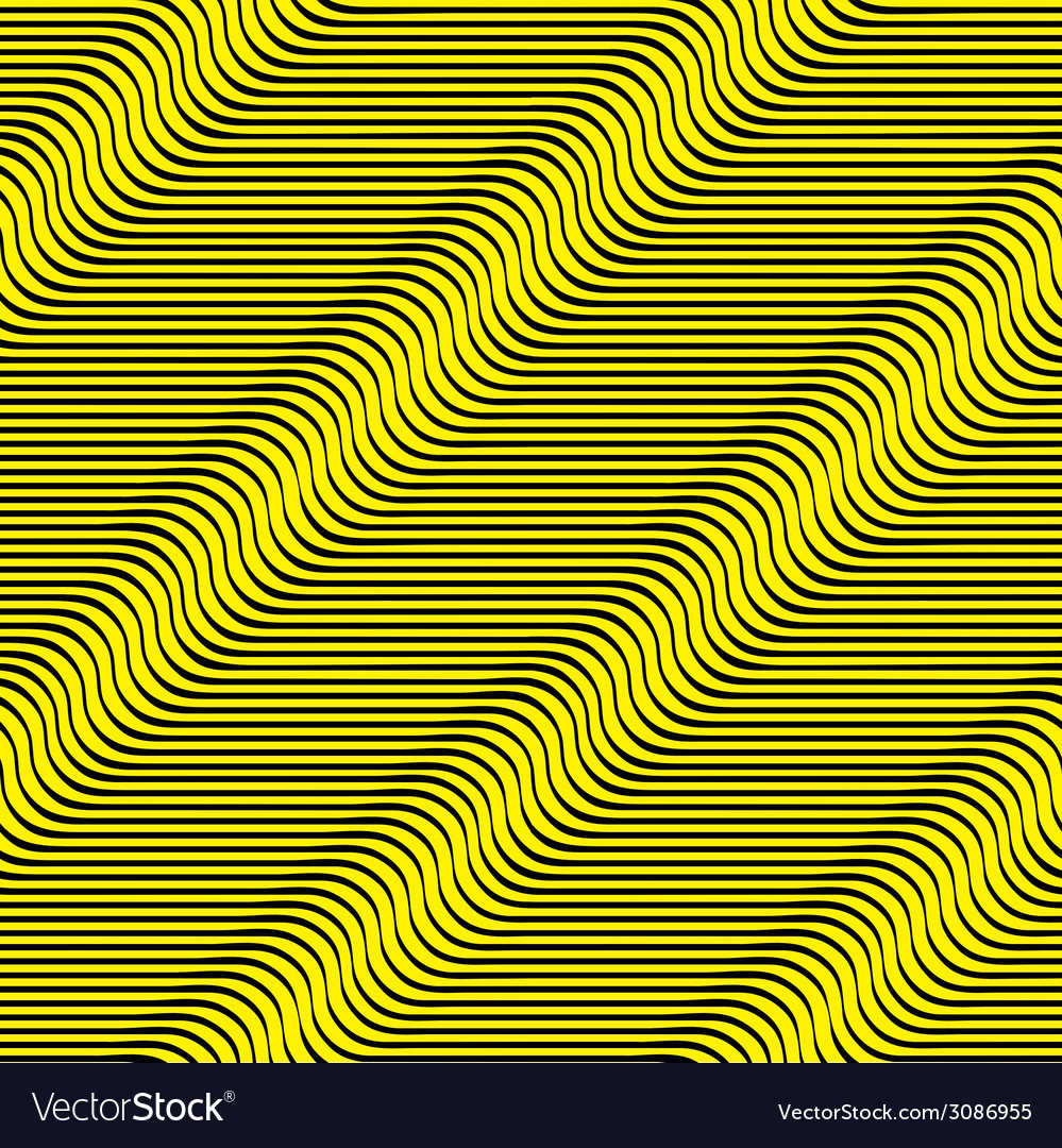 Wavy lines seamless pattern vector | Price: 1 Credit (USD $1)