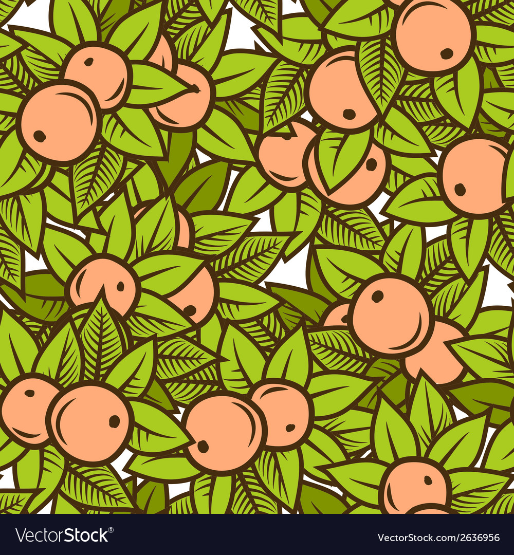 Apple pattern vector | Price: 1 Credit (USD $1)