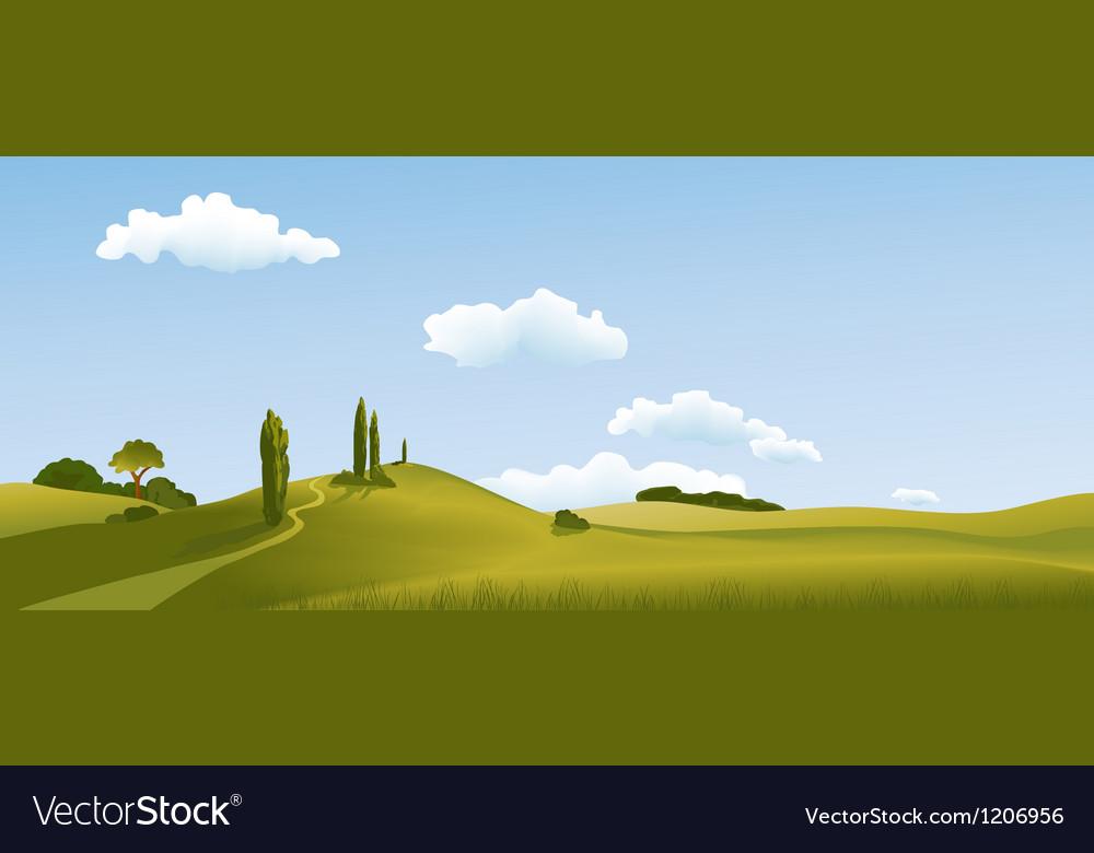 Mountain landscape vector   Price: 1 Credit (USD $1)
