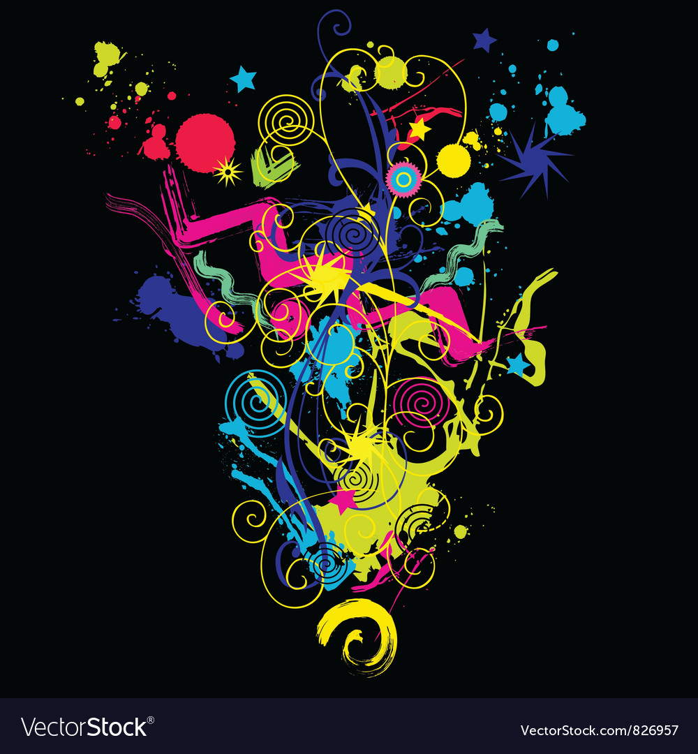 Abstract composithion vector | Price: 1 Credit (USD $1)