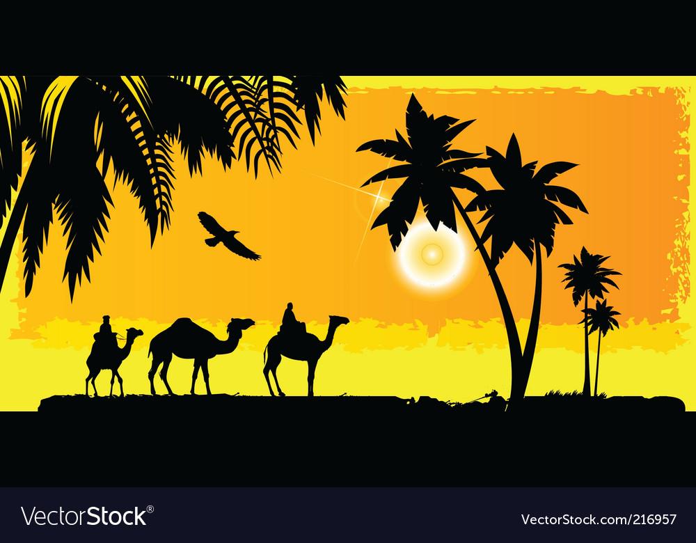 Camels vector   Price: 1 Credit (USD $1)
