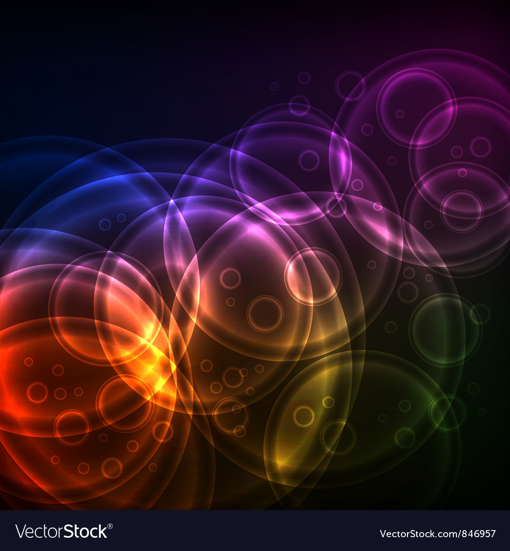 Shiny circles technology vector | Price: 1 Credit (USD $1)