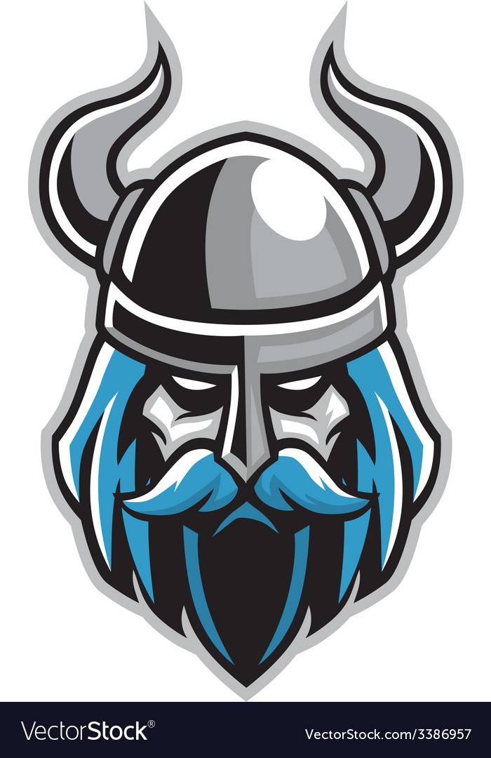Vikings head vector | Price: 3 Credit (USD $3)