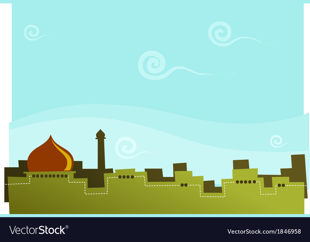 Arabian kingdom vector | Price: 1 Credit (USD $1)