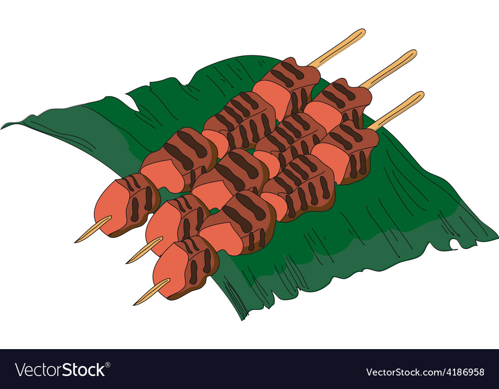 Sate vector | Price: 1 Credit (USD $1)