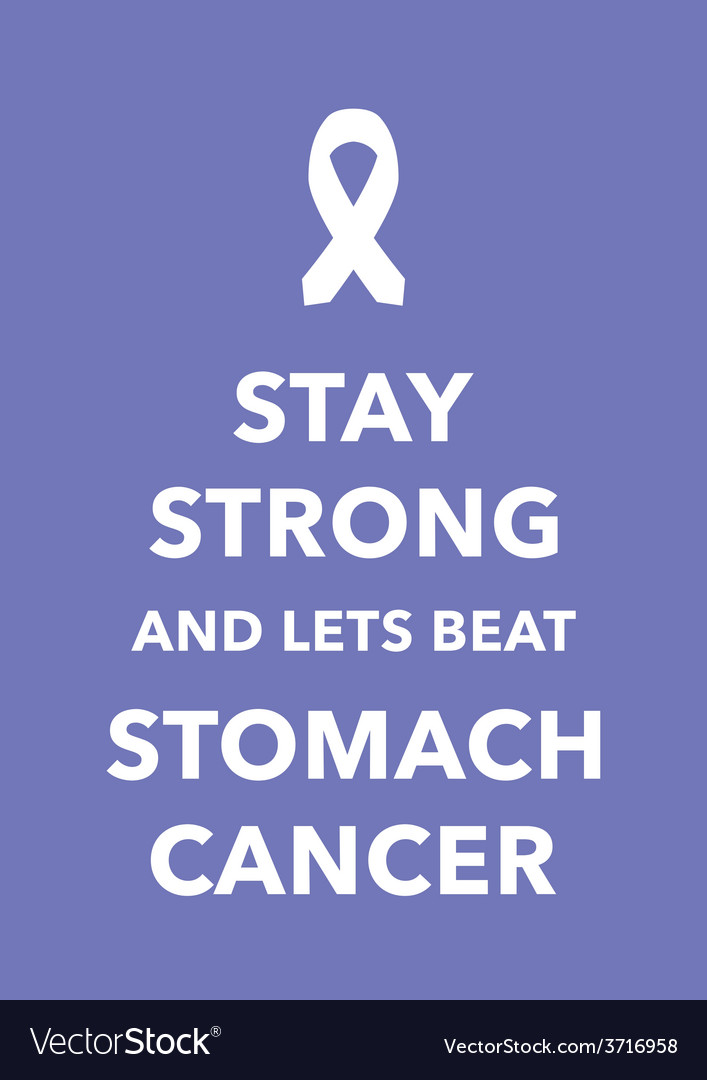 Stomach cancer poster vector | Price: 1 Credit (USD $1)