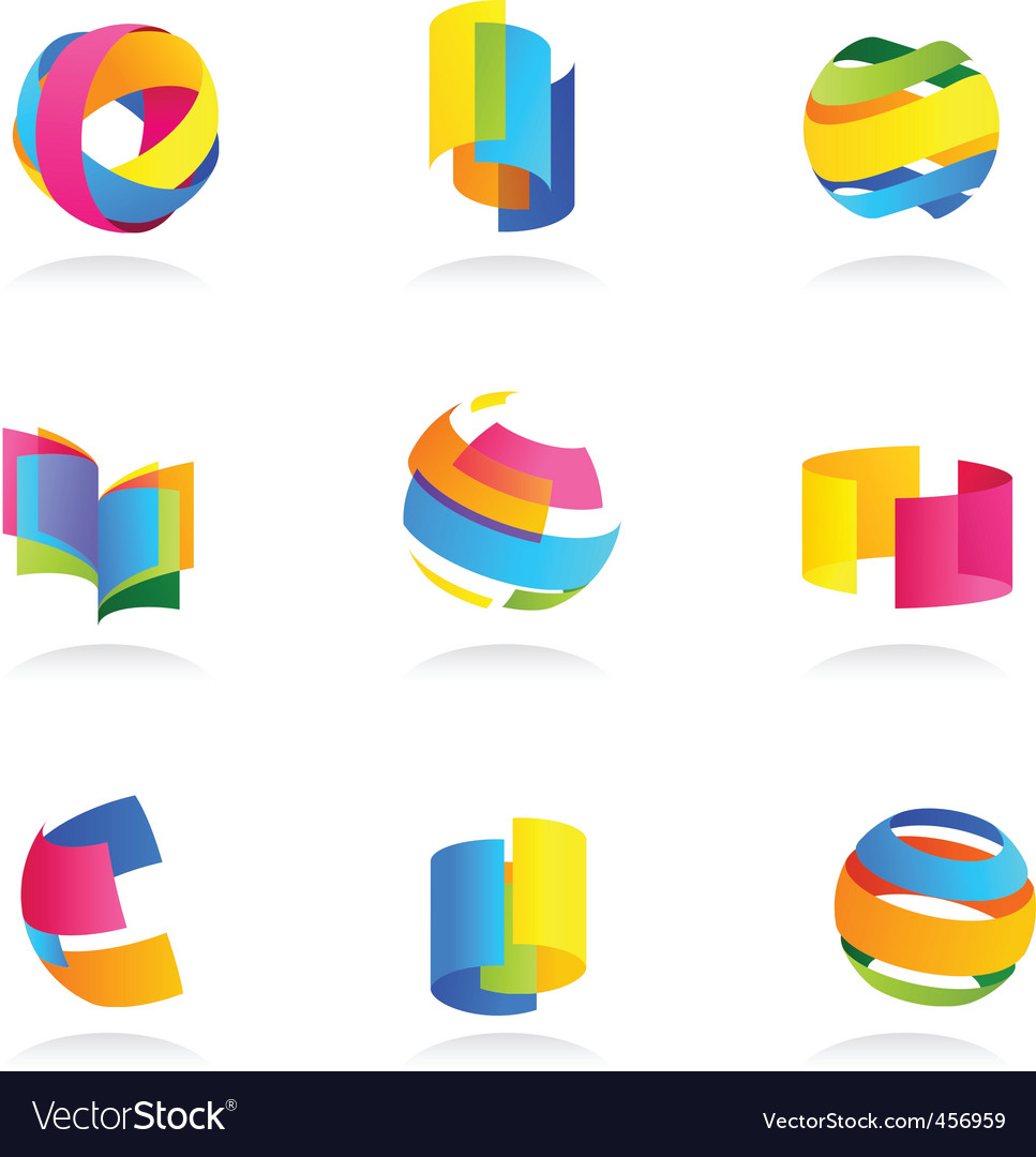 Abstract icons vector | Price: 1 Credit (USD $1)