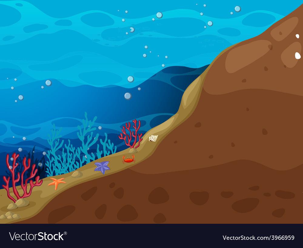 Underwater vector | Price: 3 Credit (USD $3)
