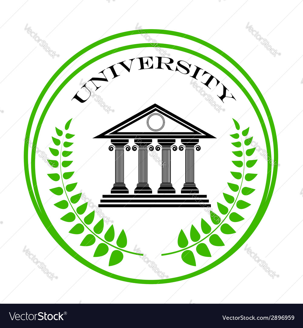 University symbol vector | Price: 1 Credit (USD $1)