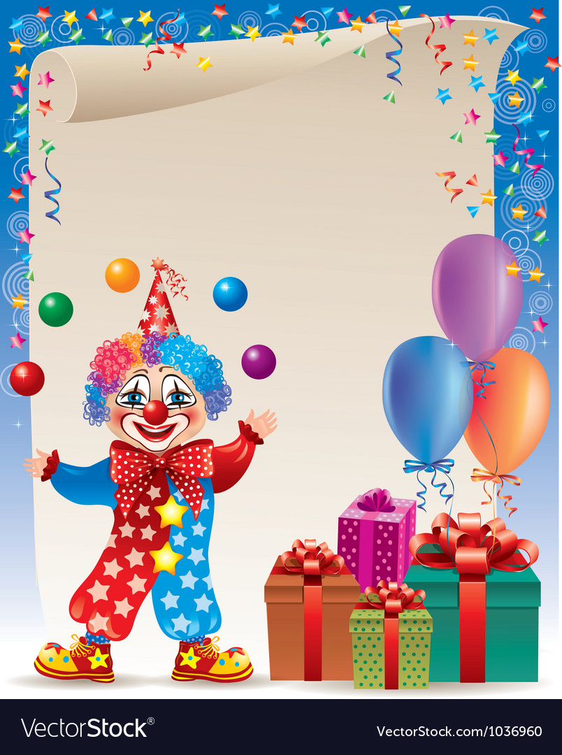 Birthday background vector | Price: 3 Credit (USD $3)