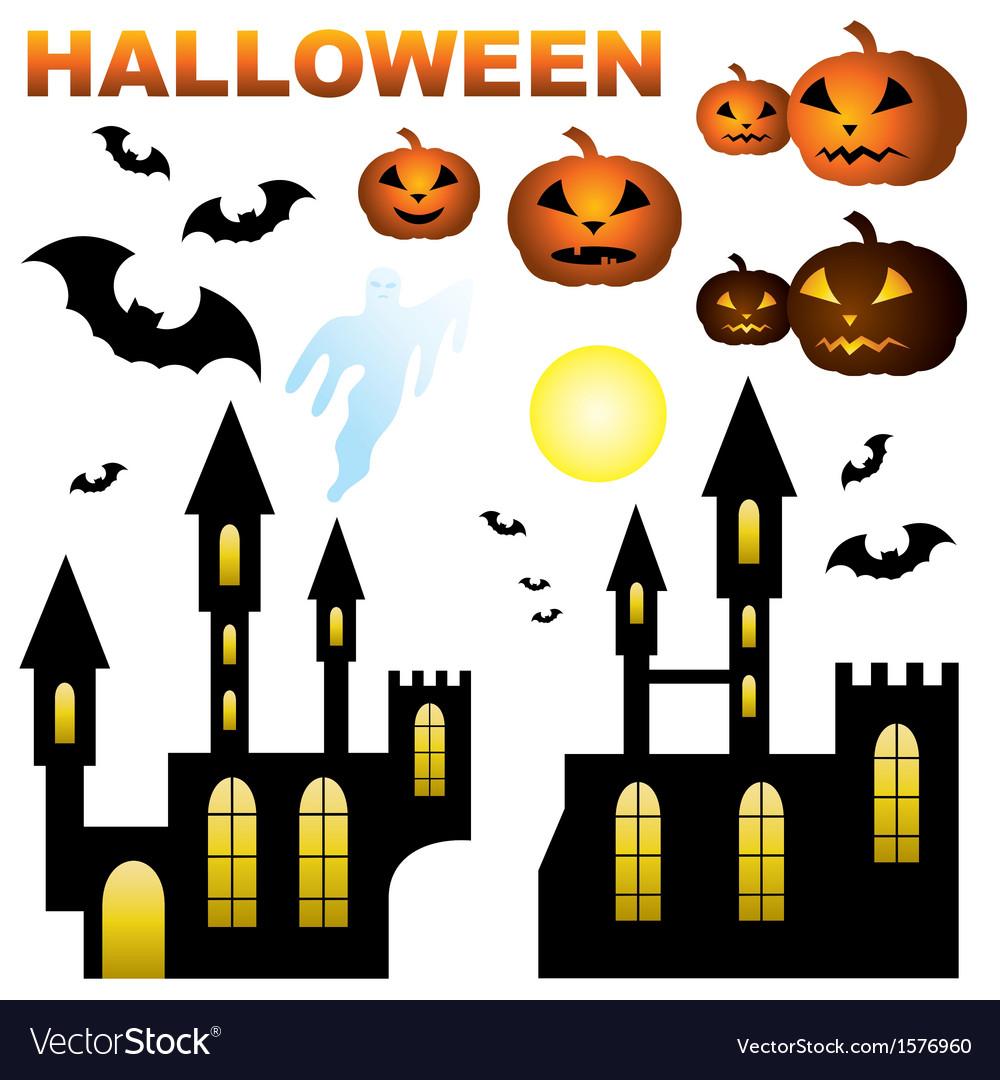 Set of halloween vector   Price: 1 Credit (USD $1)