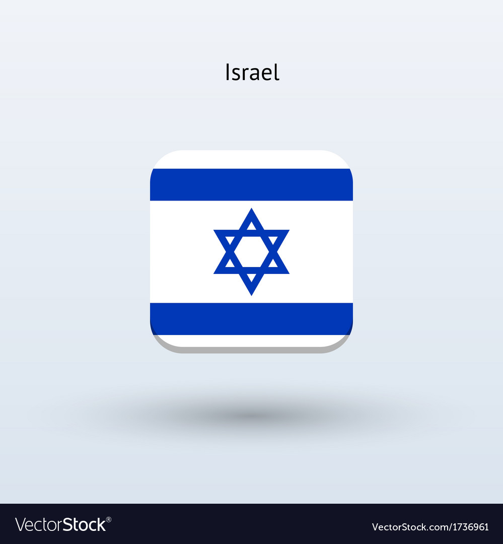 Israel flag icon vector | Price: 1 Credit (USD $1)