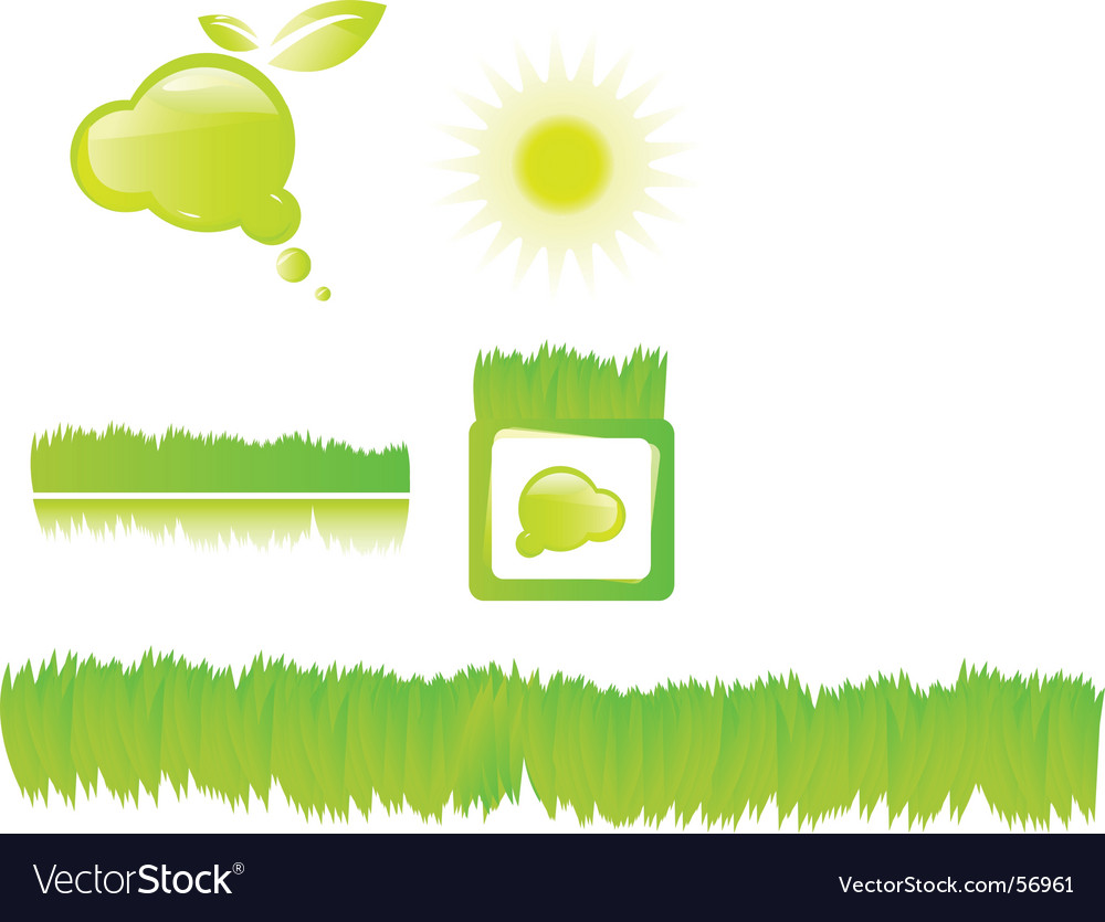 Nature items vector | Price: 1 Credit (USD $1)