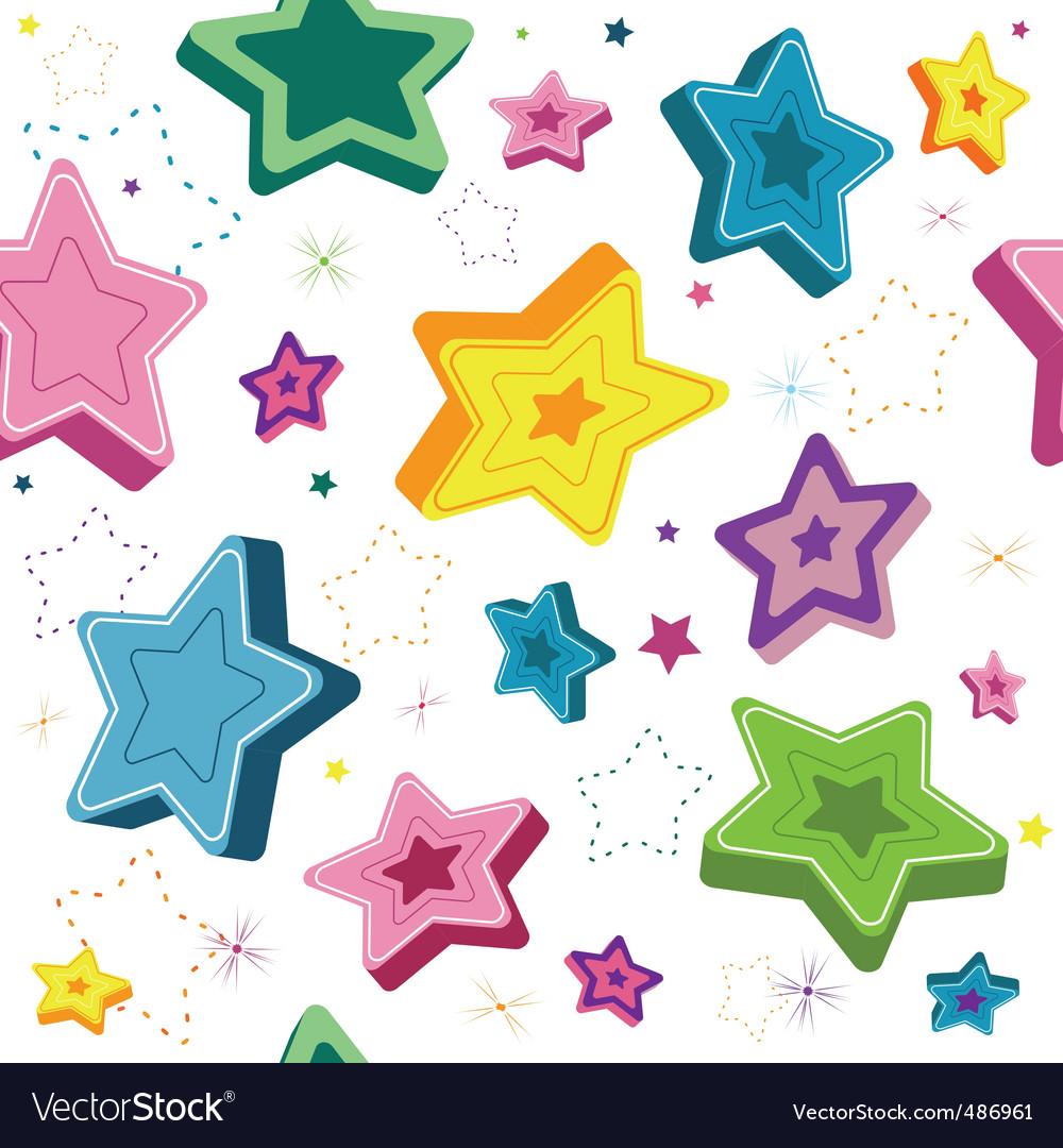 Seamless stars vector | Price: 1 Credit (USD $1)