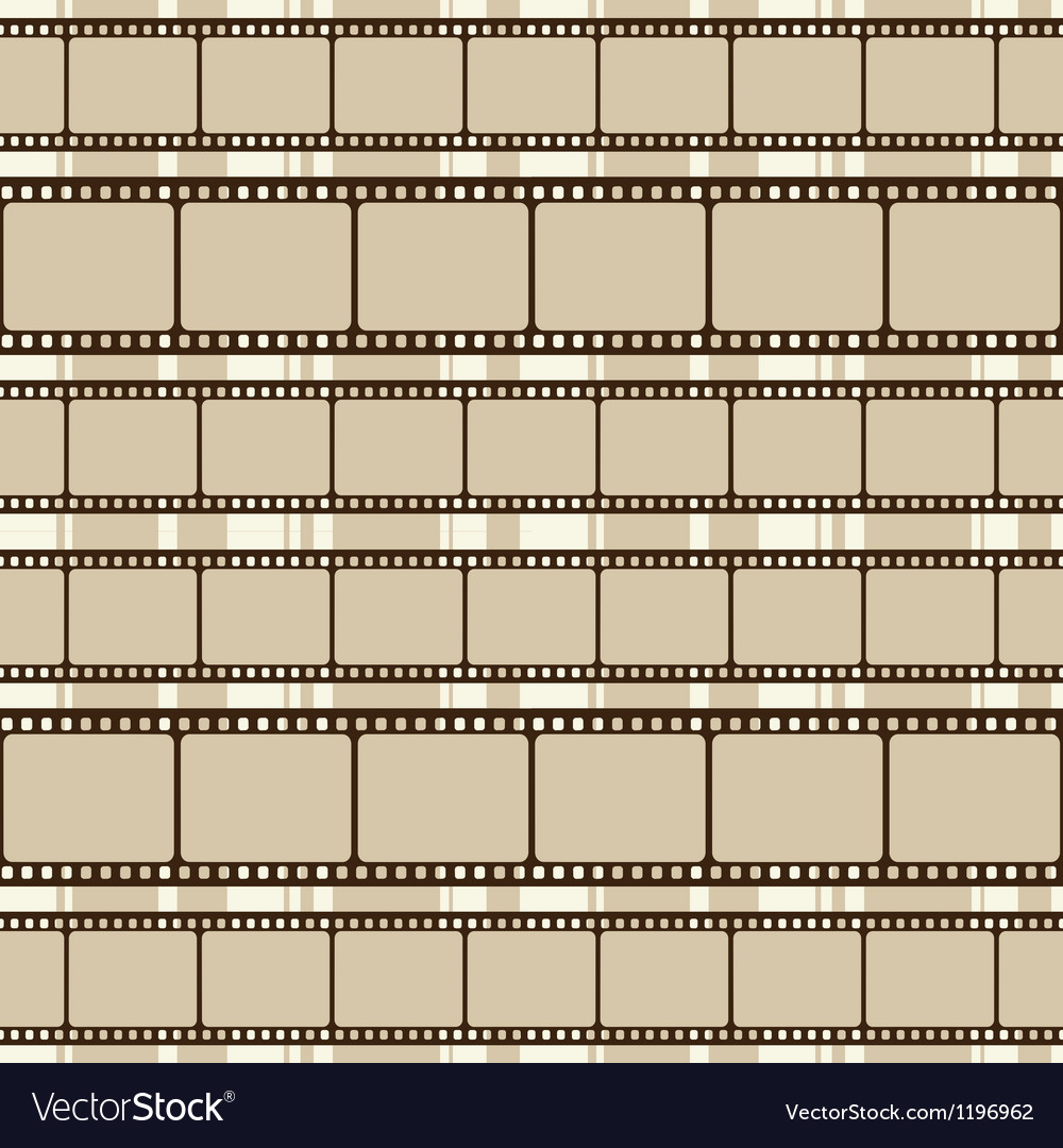 Brown retro background with film strips vector | Price: 1 Credit (USD $1)