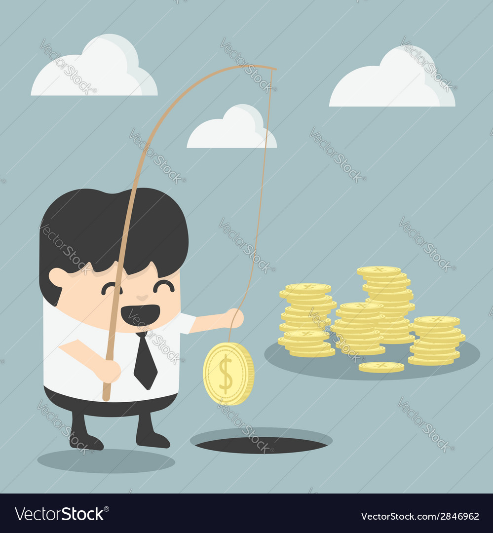 Businessman investment concept vector | Price: 1 Credit (USD $1)