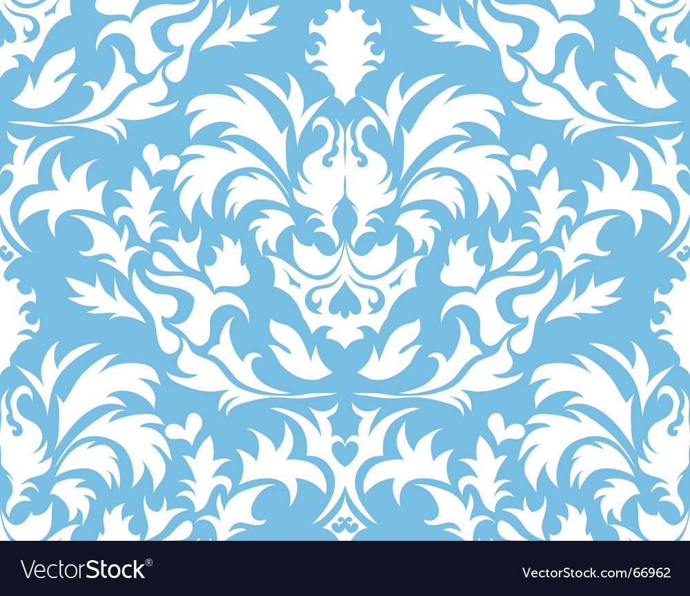 Damask background vector | Price: 1 Credit (USD $1)