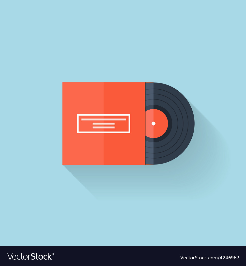 Flat web icon vinyl vector | Price: 1 Credit (USD $1)