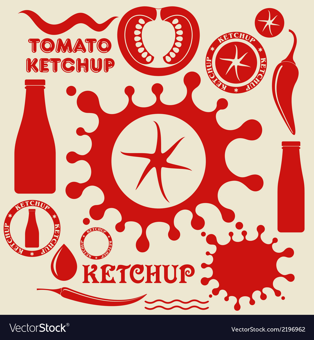 Tomato ketchup vector | Price: 1 Credit (USD $1)