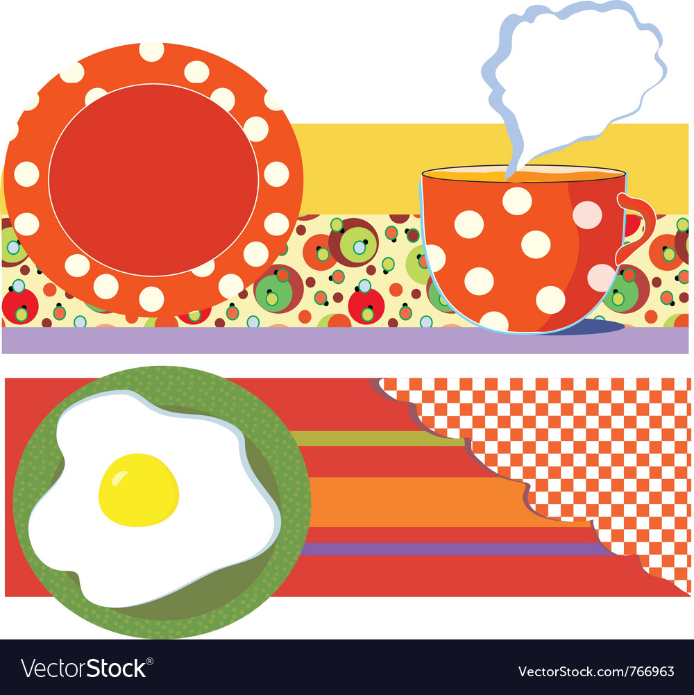 Breakfast graphic vector | Price: 1 Credit (USD $1)