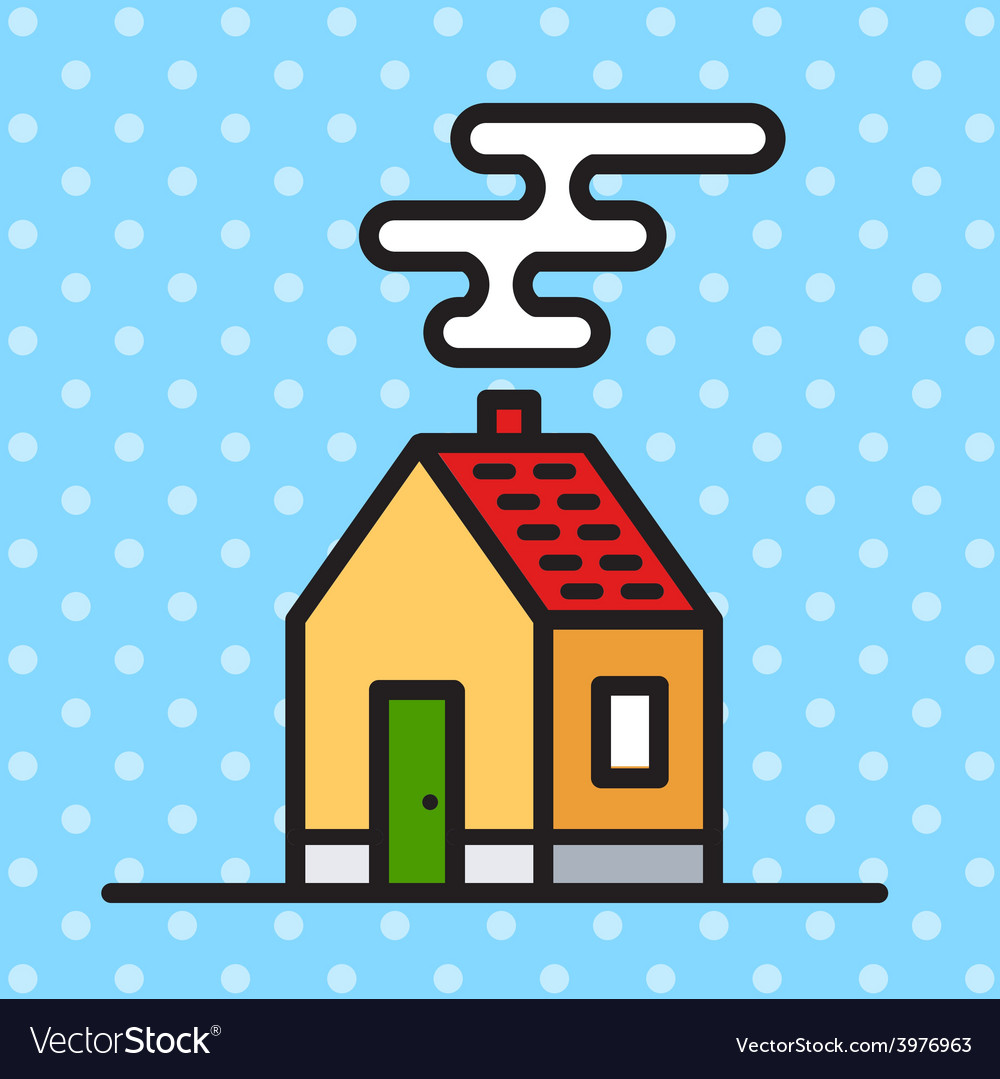 House contemporary vector | Price: 1 Credit (USD $1)