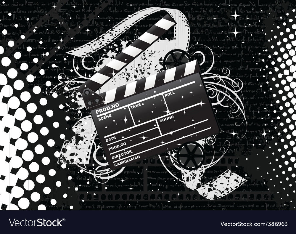 Movie background vector | Price: 1 Credit (USD $1)