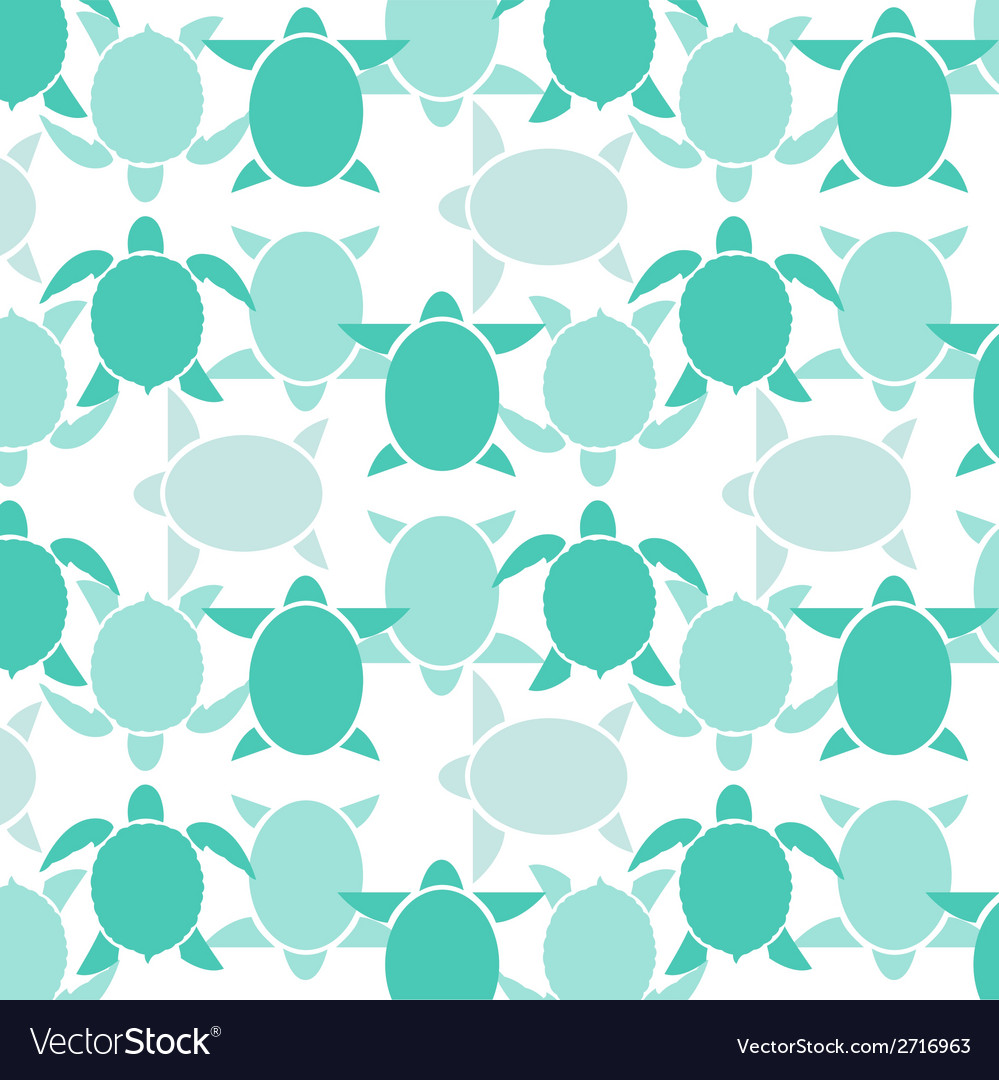 Turtle wallpaper vector