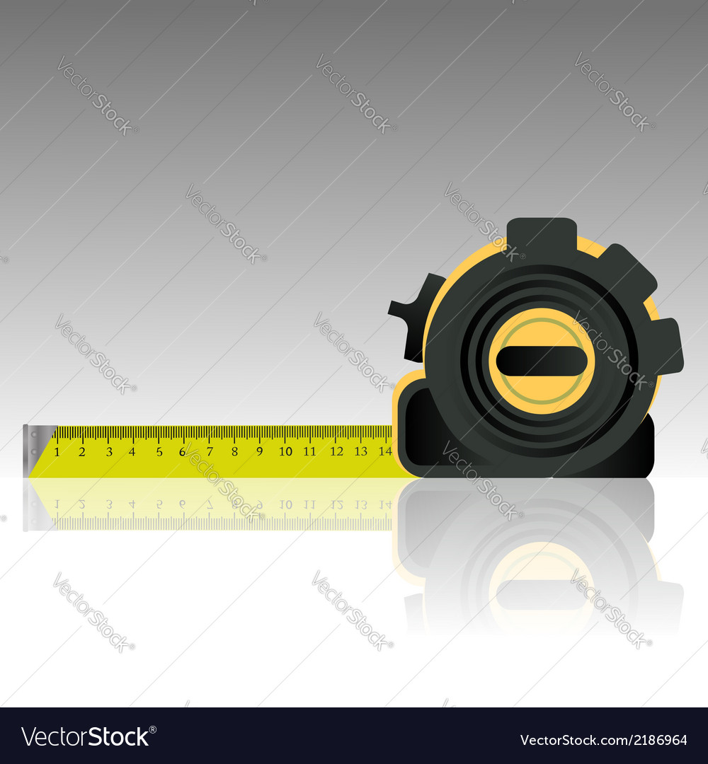 1109steel tape ruler vector | Price: 1 Credit (USD $1)