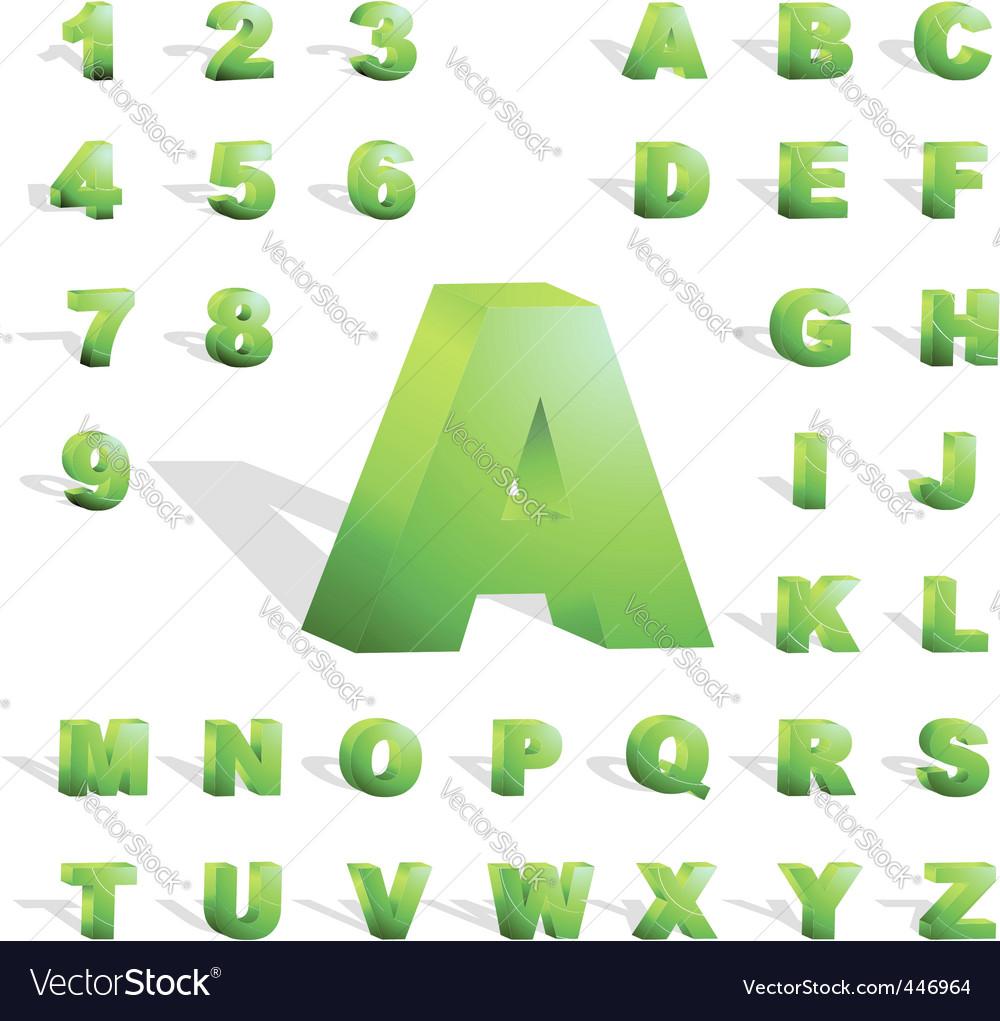 3d alphabet vector   Price: 1 Credit (USD $1)