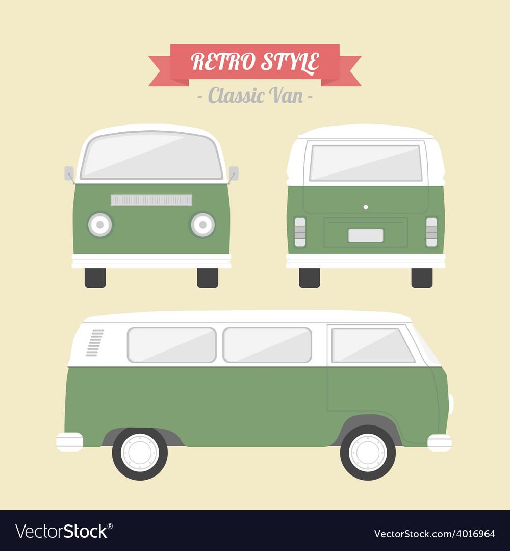 64classicvan vector   Price: 1 Credit (USD $1)