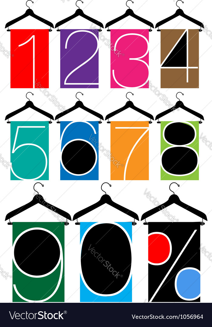 Clothes hanger vector | Price: 1 Credit (USD $1)