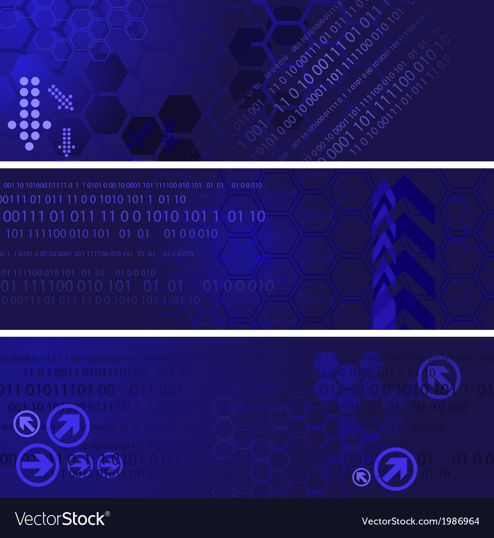 Digital banners vector | Price: 1 Credit (USD $1)