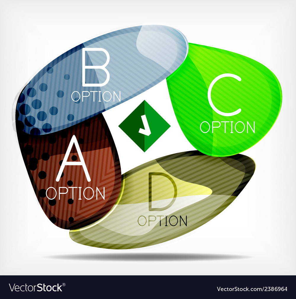Option infographic presentation layout vector   Price: 1 Credit (USD $1)