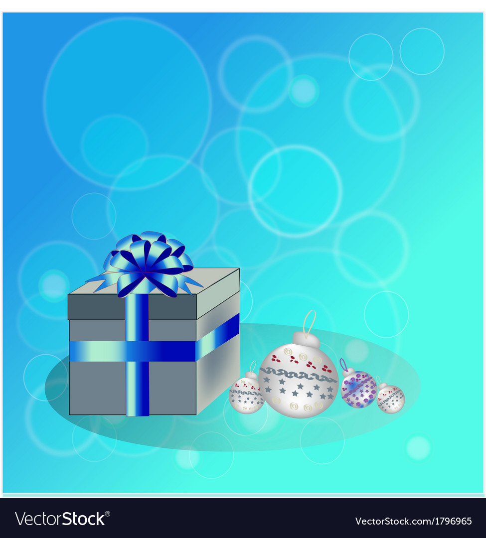Box and spheres for a fir tree1 vector | Price: 1 Credit (USD $1)
