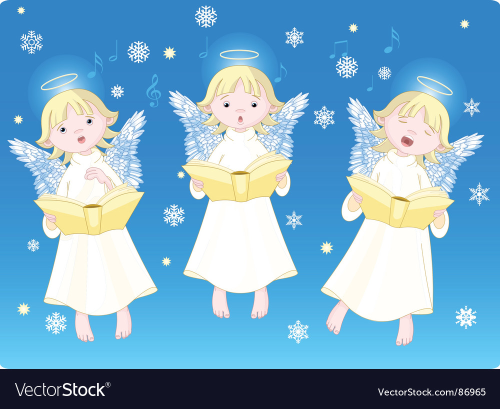 Christmas carols vector | Price: 3 Credit (USD $3)