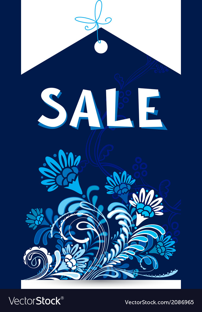 Sale tag vector | Price: 1 Credit (USD $1)