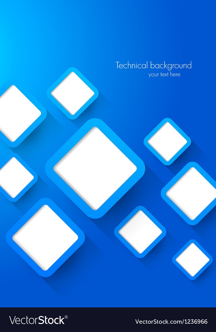 Background with blue squares vector   Price: 1 Credit (USD $1)