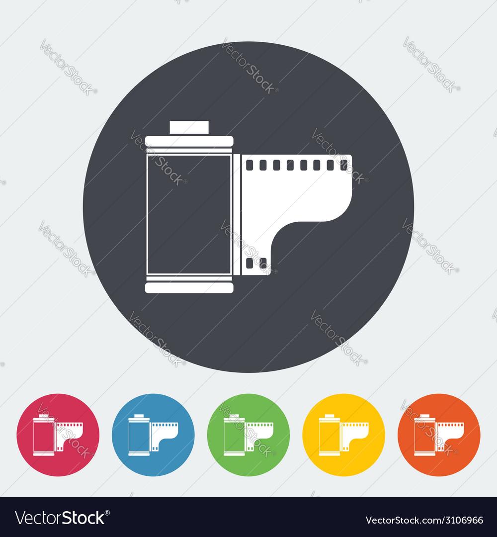 Film icon vector | Price: 1 Credit (USD $1)