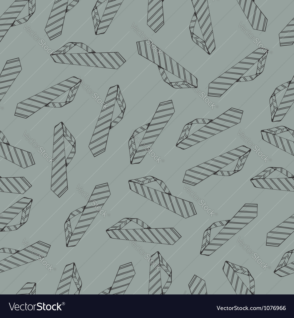 Seamless pattern with ties vector | Price: 1 Credit (USD $1)