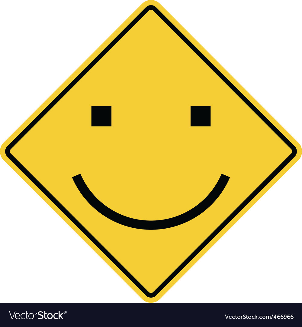 Smiley sign vector | Price: 1 Credit (USD $1)